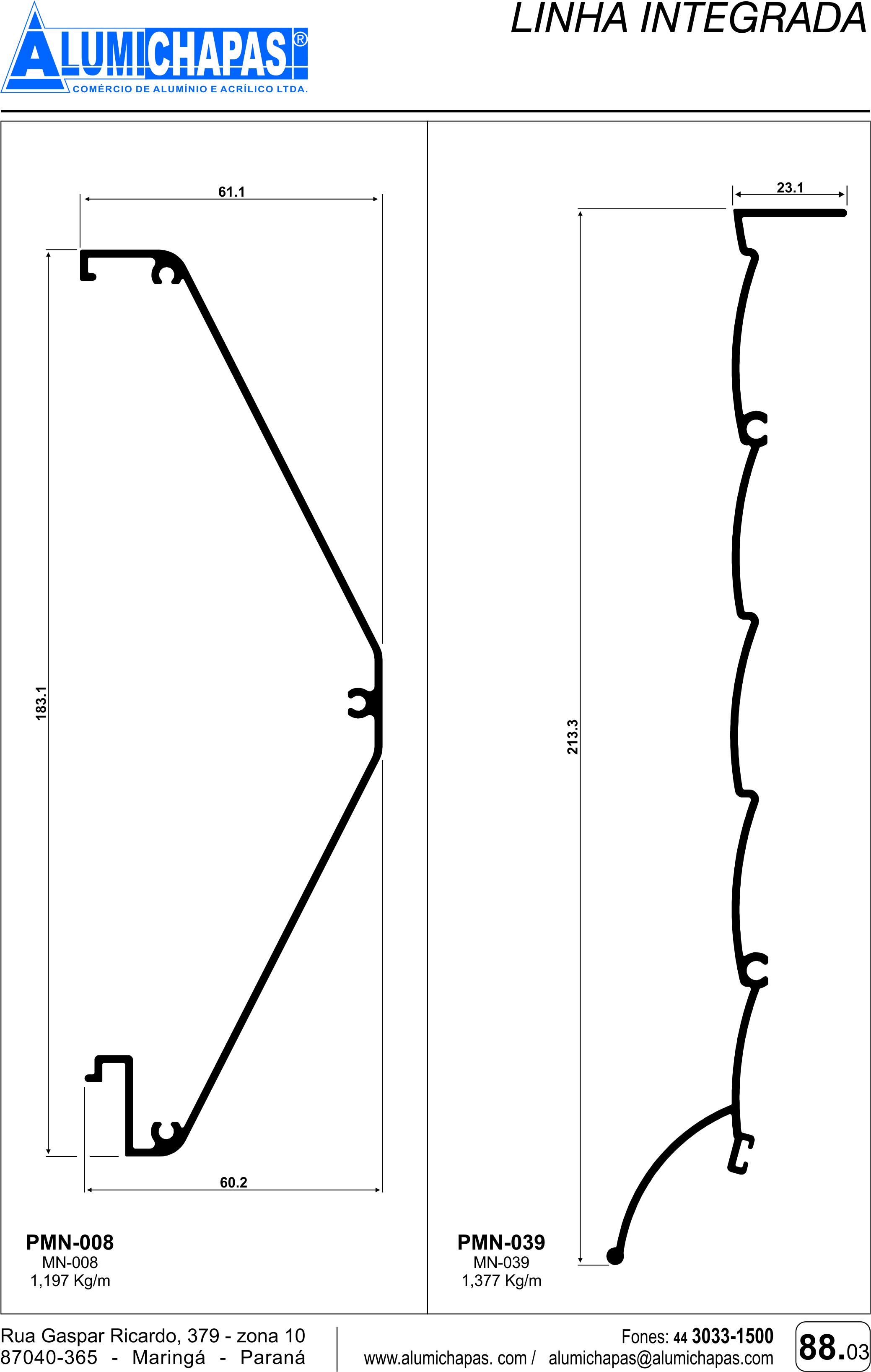 Linha integrada 3